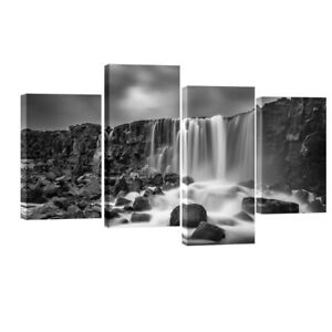 Canvas Print Painting Picture Wall Art Home Office Decor Photo Landscape Gray