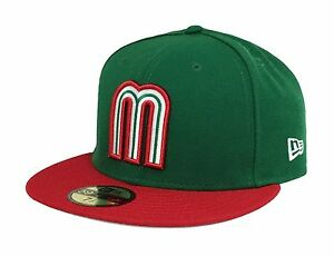 New Era 59Fifty Cap Mexico World Baseball Classic Fitted Hat Green Red $48.00