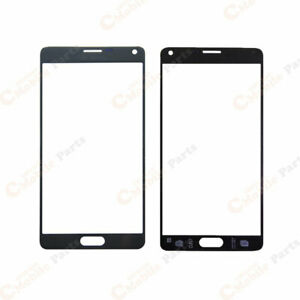 Galaxy Note 4 Front Outer Glass Lens - Black