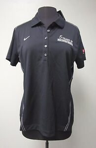 Nike Golf Dri-Fit Delta Touch Shirt Polo Short Sleeve Blue Women's Size XL Nice