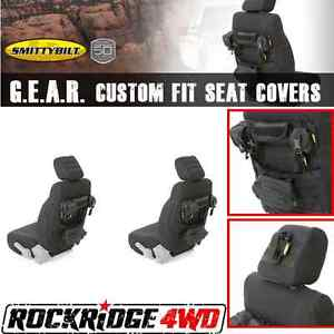 Smittybilt G.E.A.R. Custom Fit Front Seat Covers 97-02 Jeep Wrangler TJ Pair