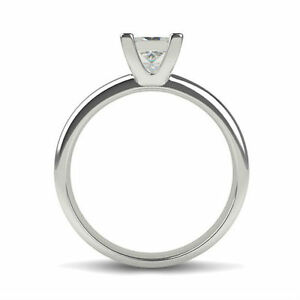 CLASSIC DESIGN 3.25 CARAT F SI2 PRINCESS CUT DIAMOND PLATINUM RING
