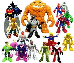 IMAGINEXT amp; Playskool Marvel Super Heroes Used Figures Loose *Please select* GBP 4.89
