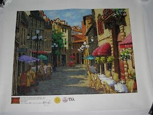 Giclee Print Canvas Art Galleries International Limited with COA $200.00
