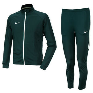 Nike 2016 Men's Asian-Fit Dry Academy TrackSuit Training Suit Green 844328-364