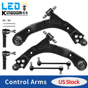 6pc Front Control Arm Ball Joint Suspension Kit for 2005 2010 Chevy Cobalt HHR $73.99