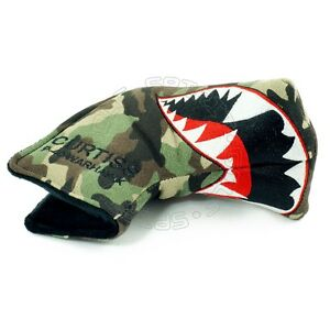 Fighter Plane Head Cover for Bettinardi Ping Blade Midsize Mallte Putter Canvas $19.99