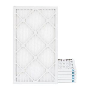 10x24x1 MERV 8 Pleated AC Furnace Air Filters. 6 Pack $5.83 each
