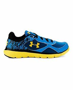 Under Armour 1258761-405 Boys Grade School UA Micro G Velocity Running Shoes 7