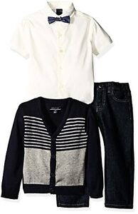 Nautica Childrens Apparel N230D56Q Little Boys Three Piece Set W Shirt