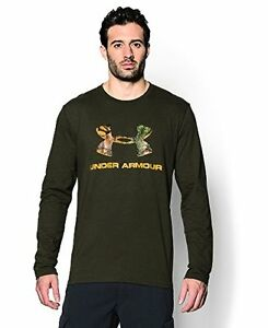 Under Armour Men's Ua Camo Fill Logo ls Tee - Choose SZColor