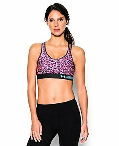 Under Armour Women's HeatGear Printed Mid - Choose SZColor