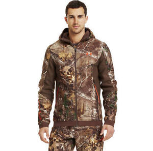 Under Armour Mens Ayton Camo HOODIE Jacket STORM (Realtree AP Xtra) 1238322-946