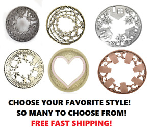 ☆☆ILLUMA LID YANKEE CANDLE JAR TOPPERS☆☆ YOU CHOOSE THE LID☆☆ FREE SHIPPING $12.99