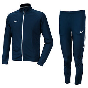 Nike 2016 Men's Asian-Fit Dry Academy TrackSuit Training Suit Navy 844328-451