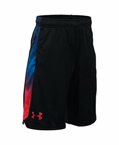 Under Armour Boys UA R2R USA Shorts  (18-20 Big Kids) x  Black