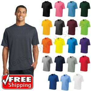 Mens Sport-Tek Micro Mesh T-Shirt Dry Fit Performance Moisture Wicking Tee ST340