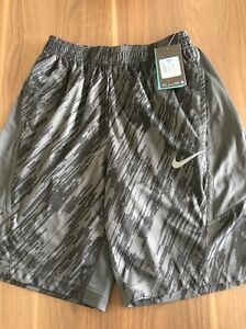 New With Tags nike Dry Fit Mens Shorts Black Size M