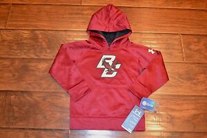 UNDER ARMOUR BOSTON COLLEGE EAGLES TODDLER HOODIE SWEATSHIRT SIZE 4T NEW