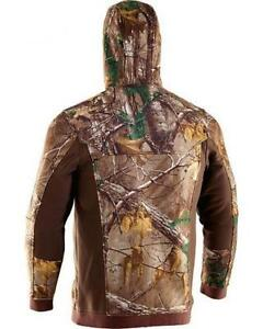 Under Armour Men Ayton Camo HOODIE Jacket STORM Realtree AP Xtra 1238322-946 MED