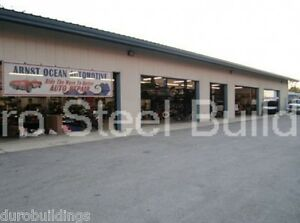 DuroBEAM Steel 75x160x16 Metal Buildings Auto Garage Workshop Structures DiRECT