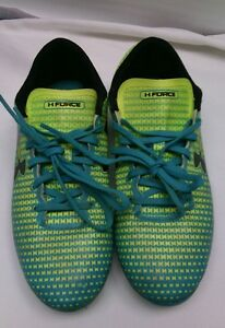 Under Armour Force Cleats Child Shoes Size 3Y  Boy Girl GUC