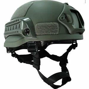 OSdream Grey MICH-1A Low Price Action Version Helmet for Airsoft Paintball  CS