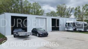 DuroBEAM Steel 60x100x19 Metal Buildings Auto Truck Repair Shop Factory DiRECT