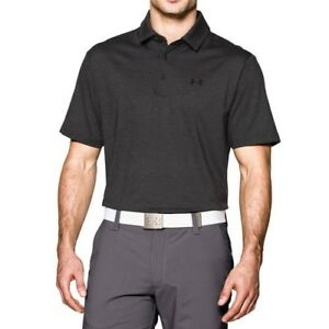 Under Armour Shirt - Playoff Polo - Heather Black