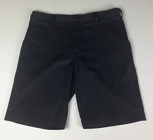 Nike Golf Dri Fit Athletic Black Shorts Mens Size 33 Stretch Fabric