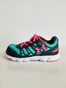 Under Armour Infant UA Spine RN Sneakers For Girls - Size 10