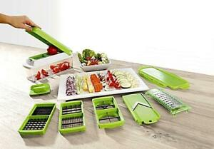 Vegetable Grater Slicer Grate Interchangeable Blades Dicer Greater Food Chopper