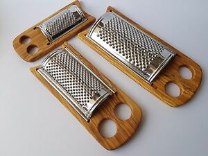 Cheese Grater Flat / Olive Wood Parmesan Grater - 3 Different Sizes - SkandWood