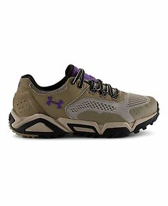 Under Armour 1257699-261 Womens UA Glenrock Low Hiking Boots 6.5 Dune
