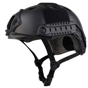 Airsoft Tactical SWAT Helmet Combat Fast Helmet with Protective... Free Shipping