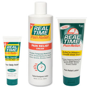 Real Time Pain Relief Pain Cream $40.00