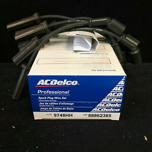 ACDelco Spark Plug Wire Set 9748HH 10.5 in. For GMC Chevrolet Cadillac 99-07