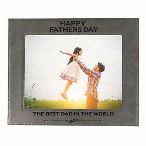 Personalized 4x6 Picture Frame for Dad - Custom Fathers Day Gift for Him