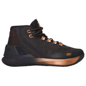 UNDER ARMOUR UA Kids Boys Curry 3 Basketball Shoes Sneakers Brass Band Copper