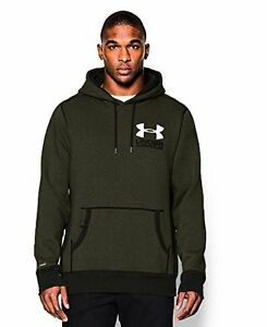 Under Armour Men's Charged Cotton Heavyweight Graphic Hoodie - Choose SZColor