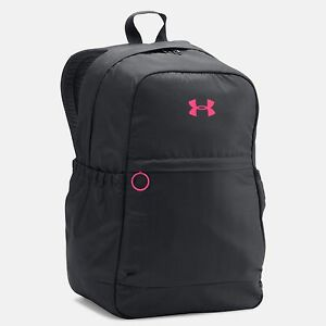 Under Armour Girls' Favorite Backpack BlackHarmony Red (1277402-001)