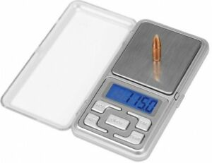 DS-750 Digital Reloading Scale Measures Grain Gram Carats Calibration Weight NEW