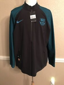 Spain Barcelona Nike Presnt  UEFA Jacket  Football Shirt Messi Neymar Suarez ERA