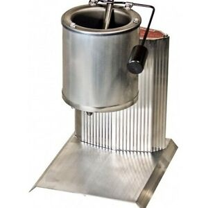 Metal Melter Pot Grey Lead Cast Bullet Sinker Mold Heavy Duty 10 Lb Bottom Pour
