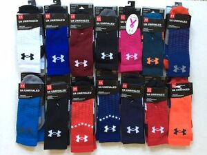 Under Armour UA Unrivaled & Performance Athletic Crew socks $7.99