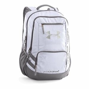 Under Armour Storm Hustle II Backpack WhiteGraphite One Size