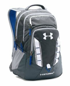 Under Armour Storm Recruit Backpack Stealth GrayRoyal One Size