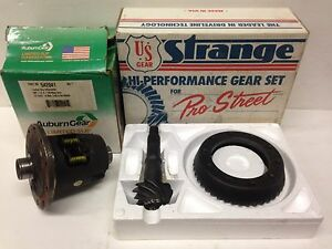 USA Made Gears Strange 10 Bolt 4.10 Ring & Pinion 7.5 Auburn 542041 Limited Slip
