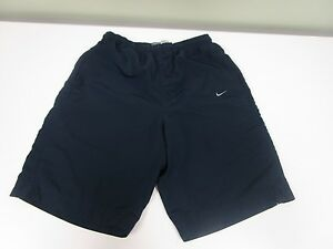 NIKE SHORTS RUNNING ATHLETIC MESH LINED POLYESTER BLUE MEN'S SIZE L