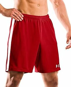Under Armour 1217241 Mens Classic Soccer Shorts XX Red- Choose SZColor.